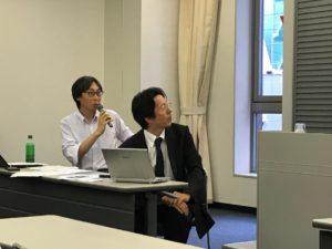 (左:倉知孝匡弁護士、右:野中光夫弁護士)